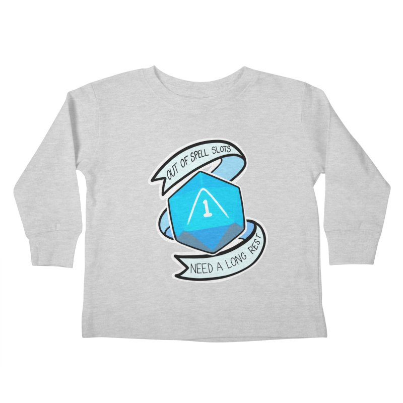 Out of spell slots Kids Toddler Longsleeve T-Shirt by AnimeGravy