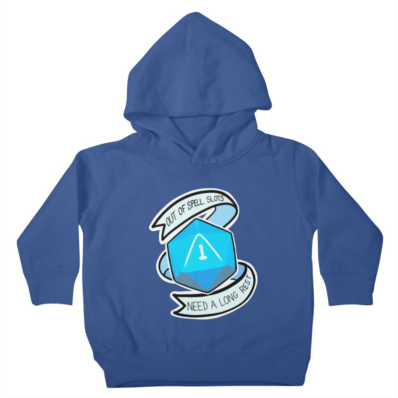 Out of spell slots Kids Toddler Pullover Hoody by Animegravy's Artist Shop