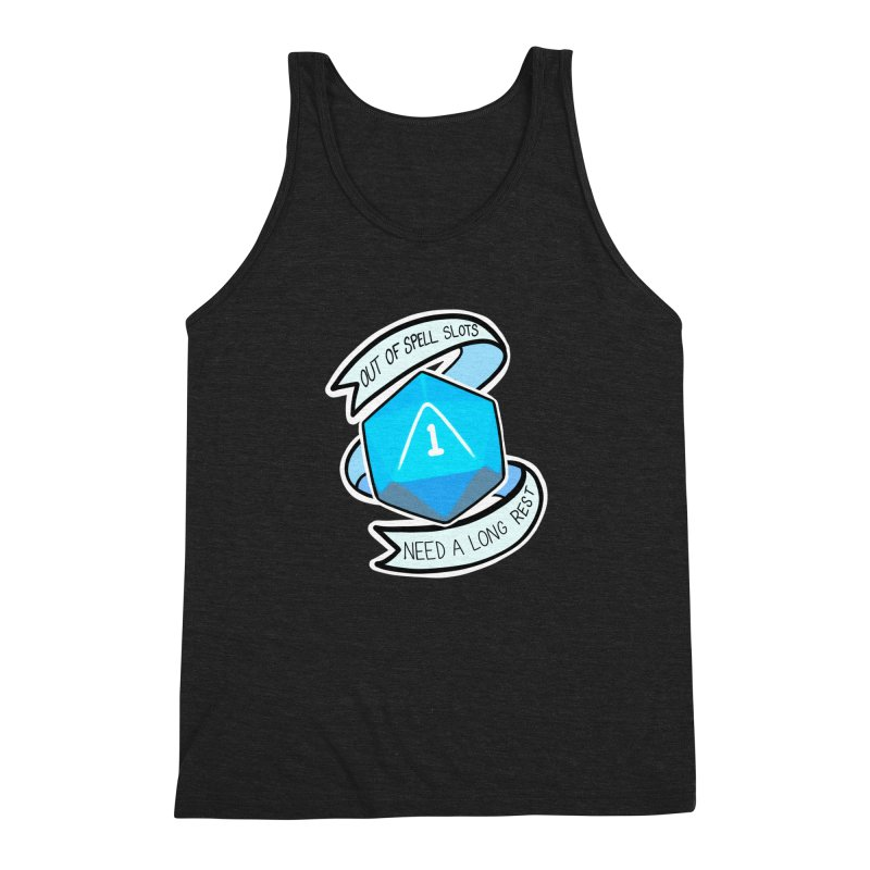 Out of spell slots Men's Triblend Tank by Animegravy's Artist Shop