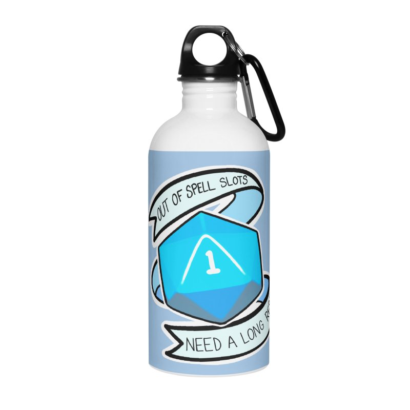 Out of spell slots Accessories Water Bottle by Animegravy's Artist Shop
