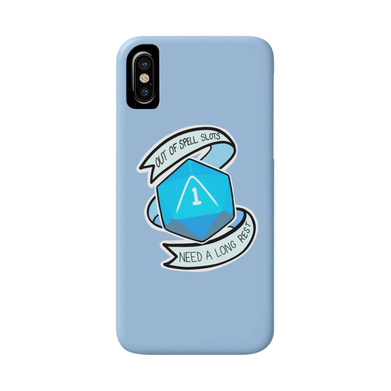 Out of spell slots Accessories Phone Case by Animegravy's Artist Shop