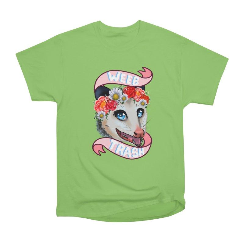 Weeb trash Men's Heavyweight T-Shirt by Animegravy's Artist Shop