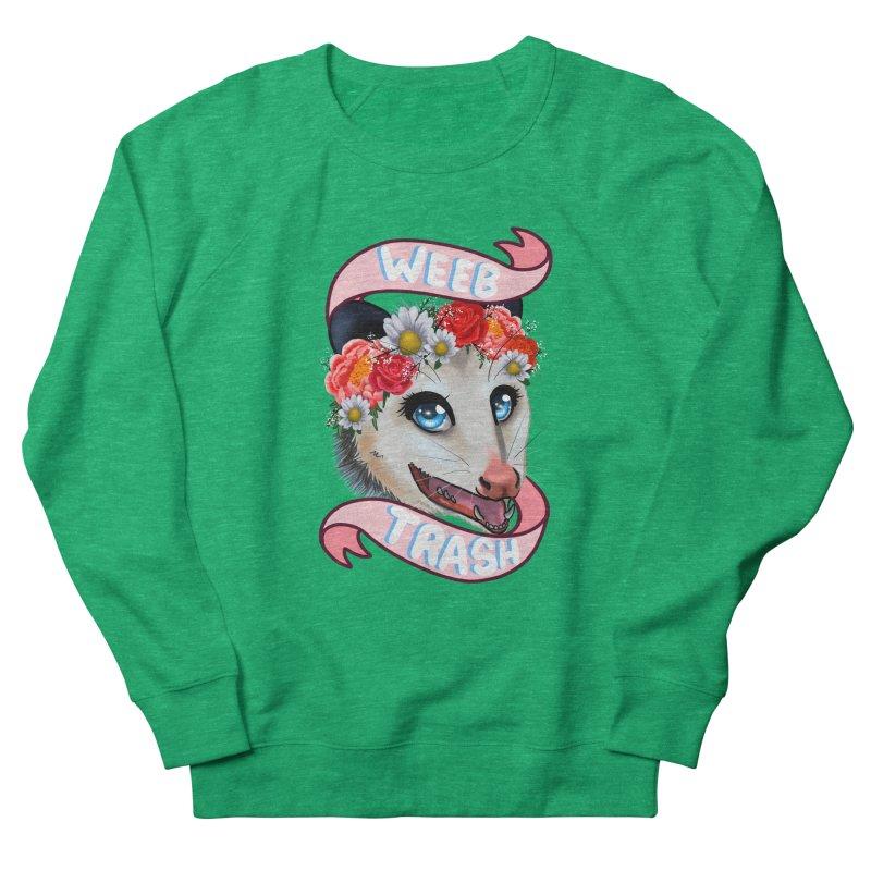 Weeb trash Women's Sweatshirt by AnimeGravy