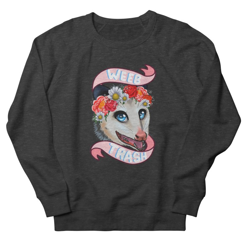 Weeb trash Women's French Terry Sweatshirt by AnimeGravy
