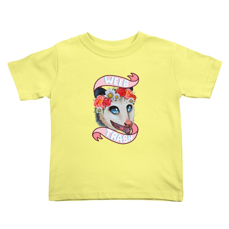 Weeb trash Kids Toddler T-Shirt by Animegravy's Artist Shop