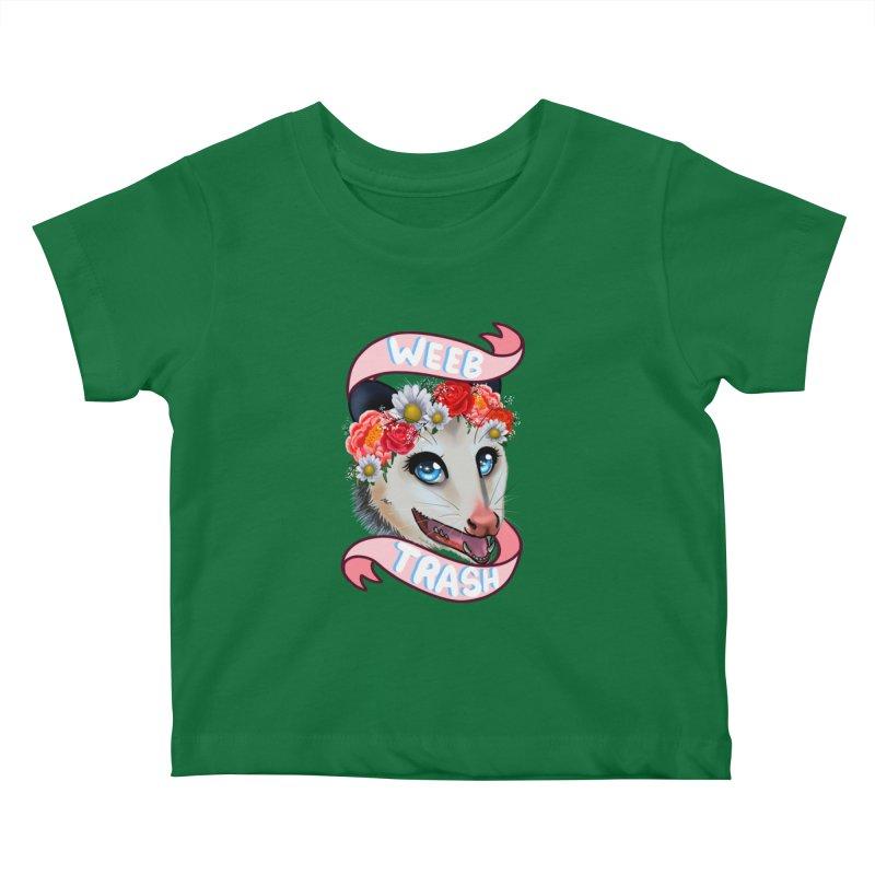 Weeb trash Kids Baby T-Shirt by AnimeGravy