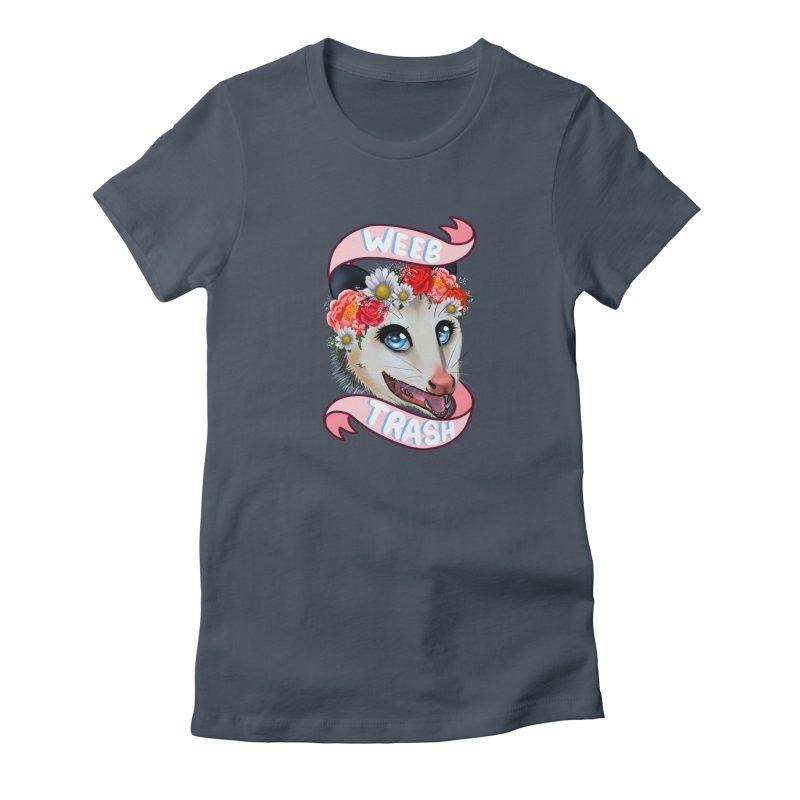 Weeb trash Women's T-Shirt by AnimeGravy