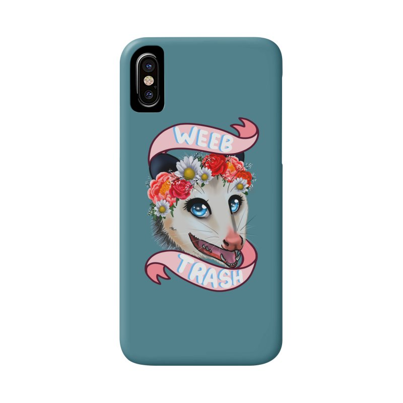 Weeb trash Accessories Phone Case by AnimeGravy