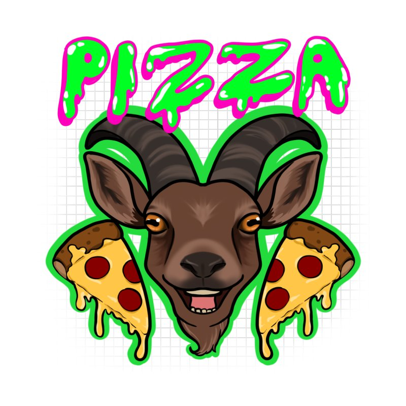 Pizza goat Accessories Sticker by AnimeGravy