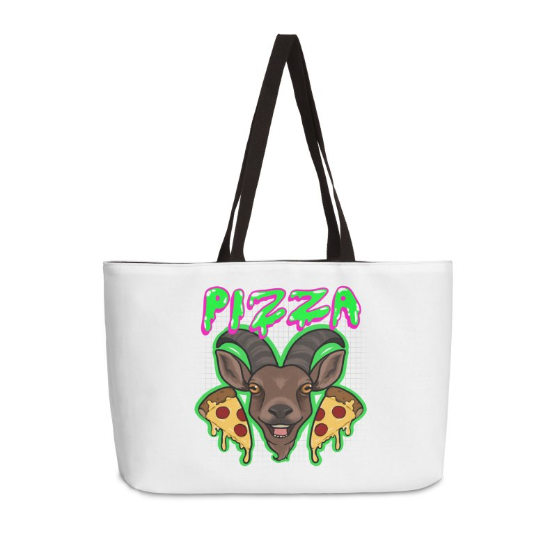 Pizza goat Accessories Weekender Bag Bag by AnimeGravy