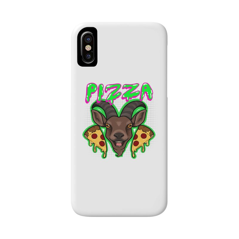 Pizza goat Accessories Phone Case by AnimeGravy