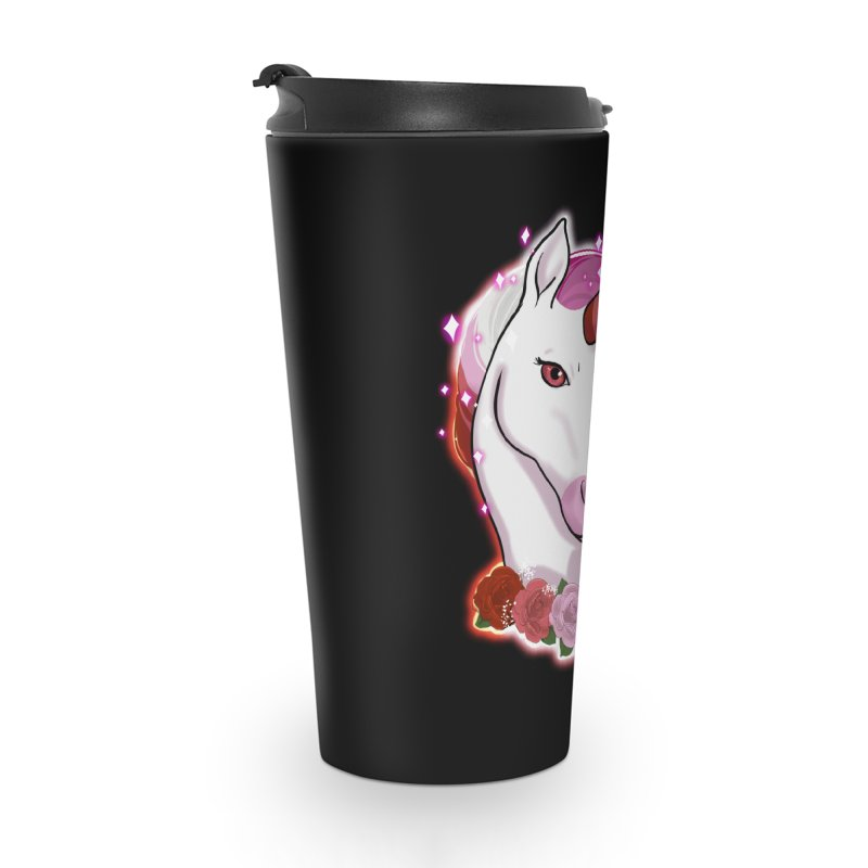 Lesbian pride unicorn Accessories Travel Mug by AnimeGravy