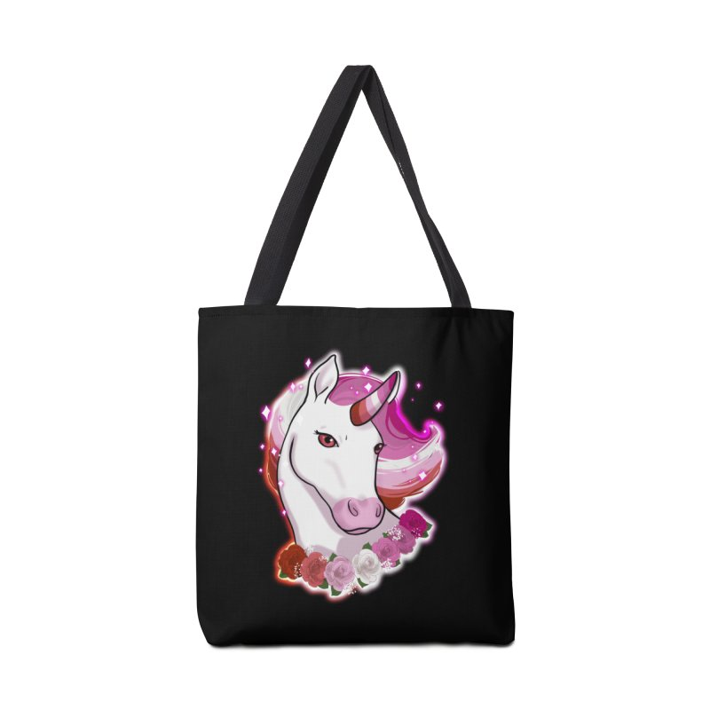 Lesbian pride unicorn Accessories Bag by Animegravy's Artist Shop