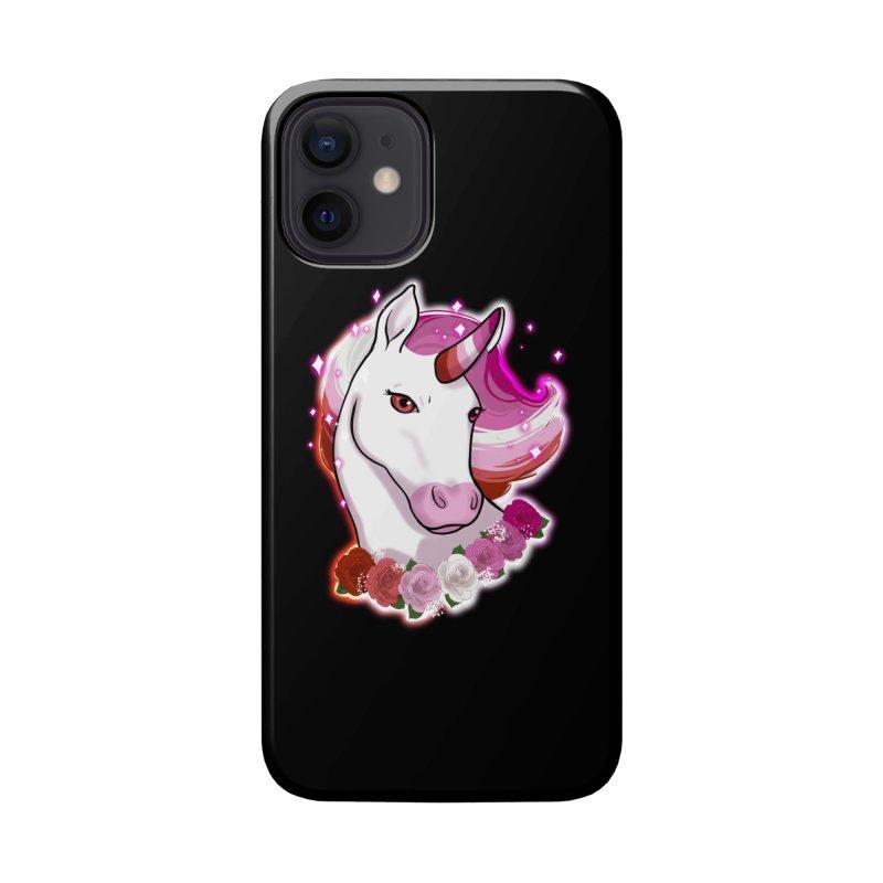 Lesbian pride unicorn Accessories Phone Case by AnimeGravy