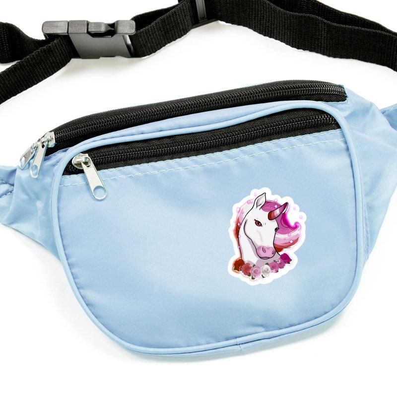 Lesbian pride unicorn Accessories Sticker by AnimeGravy