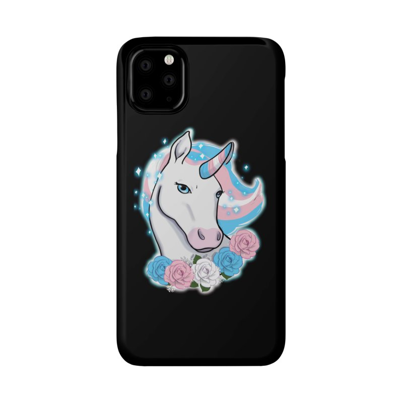 Trans pride unicorn Accessories Phone Case by AnimeGravy
