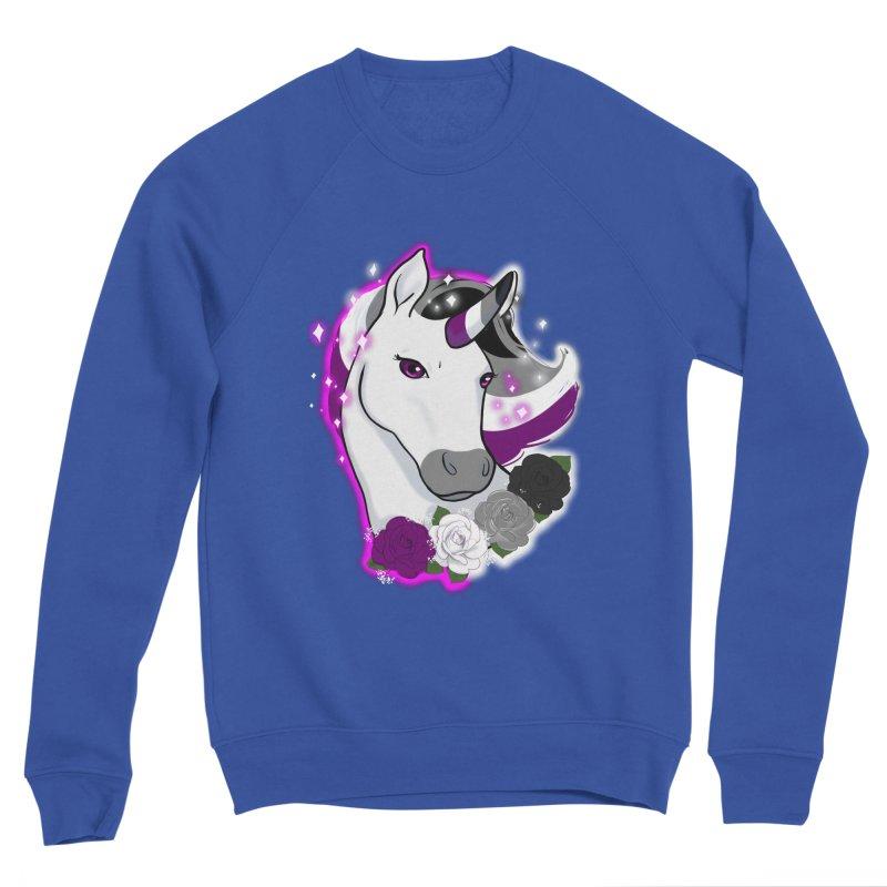 Asexual pride unicorn Men's Sweatshirt by AnimeGravy