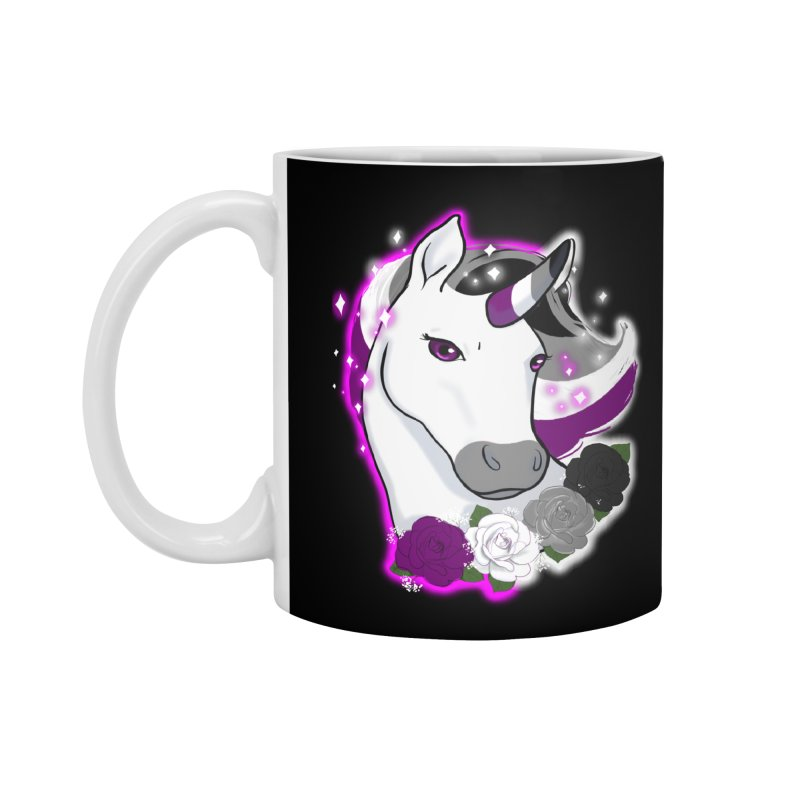 Asexual pride unicorn Accessories Standard Mug by AnimeGravy