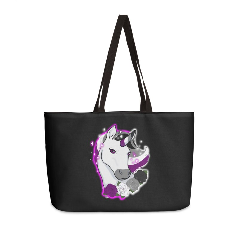 Asexual pride unicorn Accessories Bag by AnimeGravy