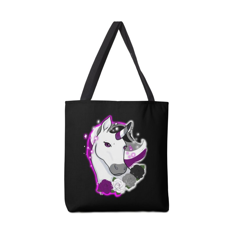 Asexual pride unicorn Accessories Bag by Animegravy's Artist Shop