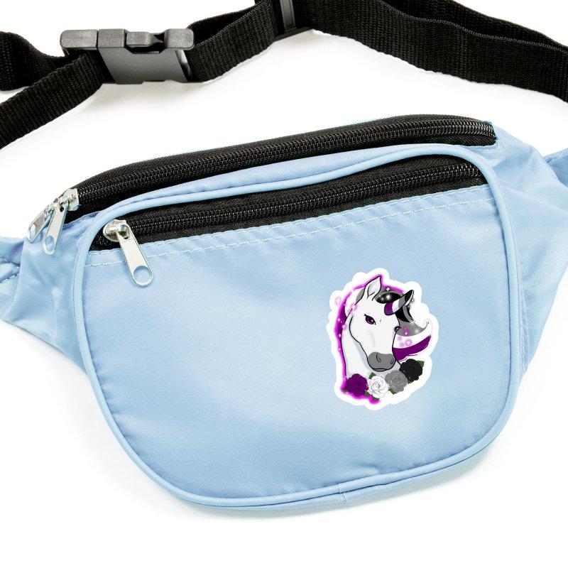 Asexual pride unicorn Accessories Sticker by AnimeGravy
