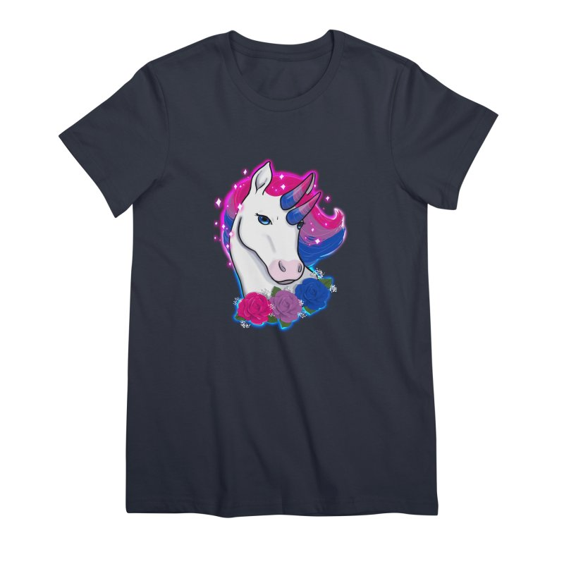 Bisexual Pride Unicorn Women's Premium T-Shirt by AnimeGravy