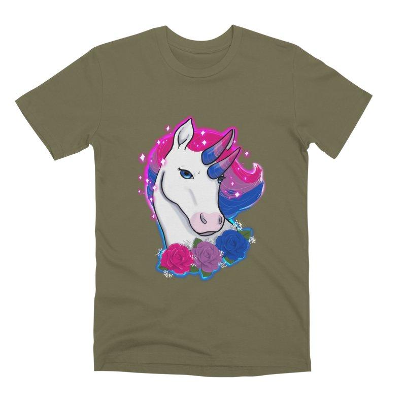 Bisexual Pride Unicorn Men's Premium T-Shirt by AnimeGravy