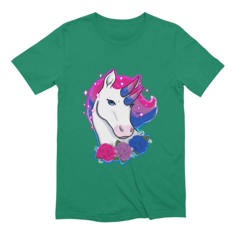 Bisexual Pride Unicorn Men's Extra Soft T-Shirt by AnimeGravy