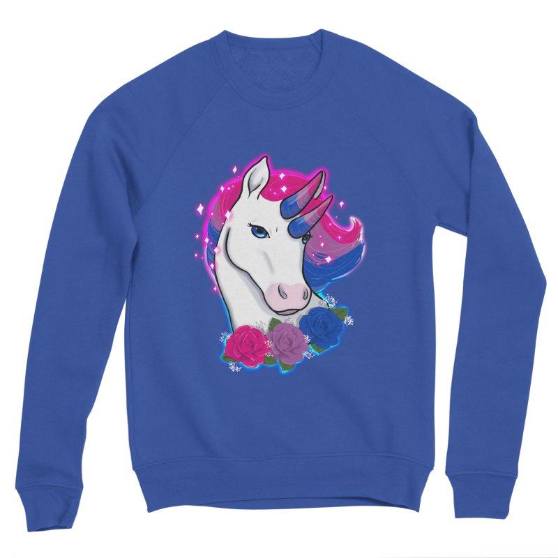 Bisexual Pride Unicorn Men's Sweatshirt by AnimeGravy