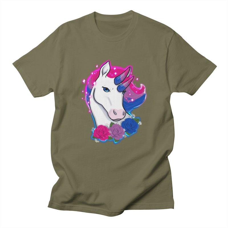 Bisexual Pride Unicorn Women's Regular Unisex T-Shirt by AnimeGravy