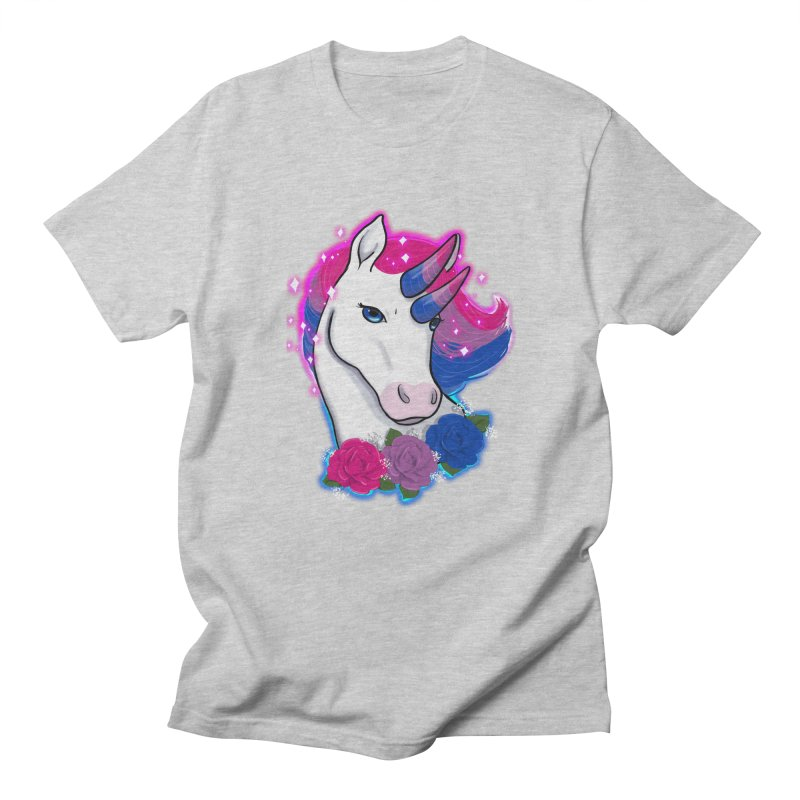 Bisexual Pride Unicorn Men's Regular T-Shirt by AnimeGravy