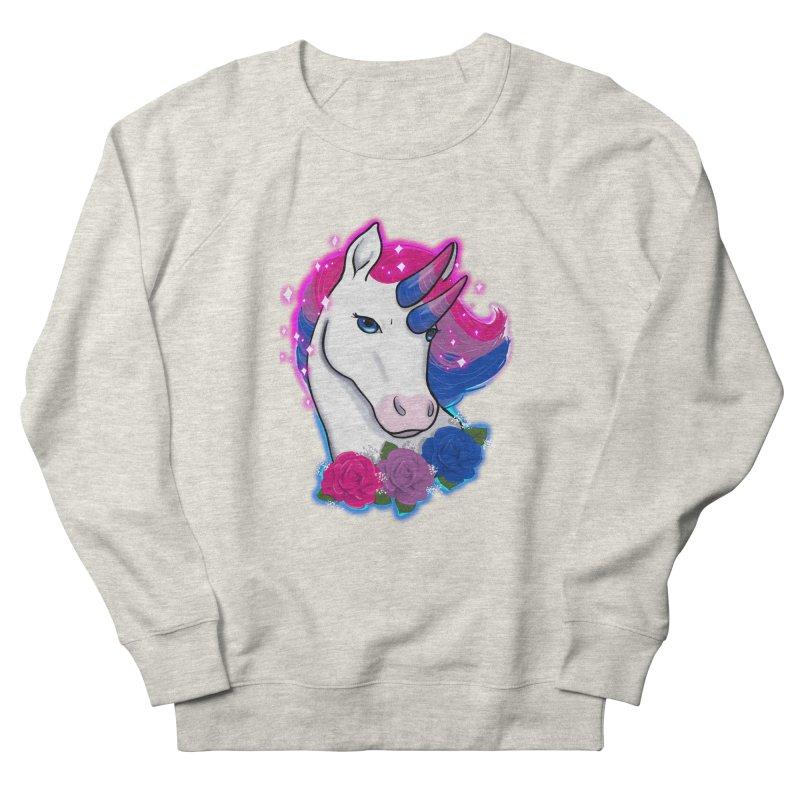 Bisexual Pride Unicorn Women's French Terry Sweatshirt by AnimeGravy