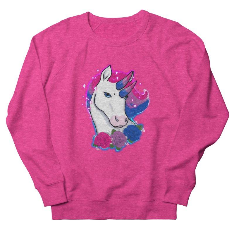 Bisexual Pride Unicorn Men's French Terry Sweatshirt by AnimeGravy