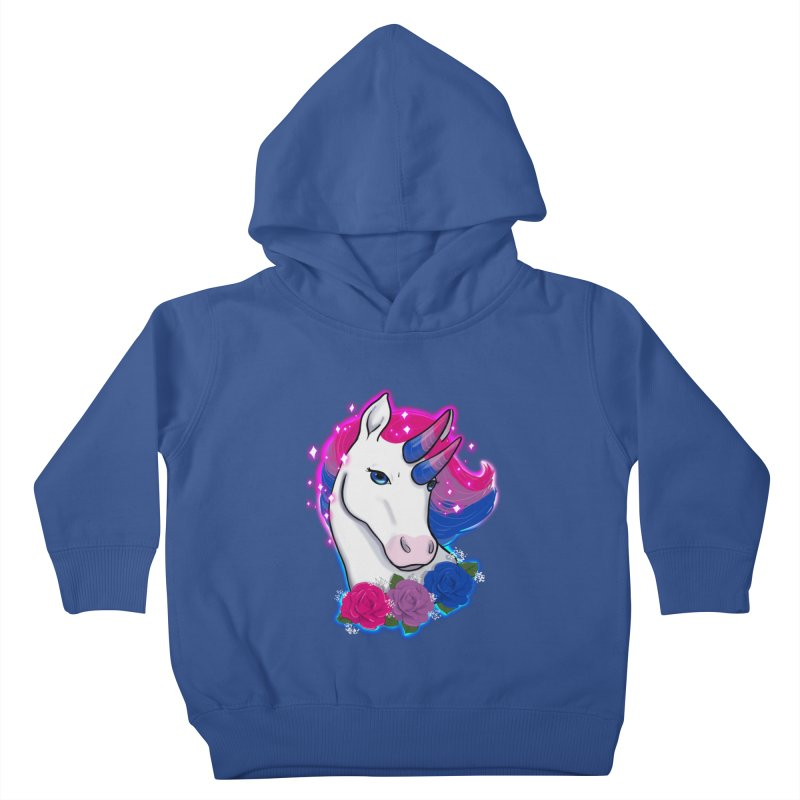 Bisexual Pride Unicorn Kids Toddler Pullover Hoody by Animegravy's Artist Shop