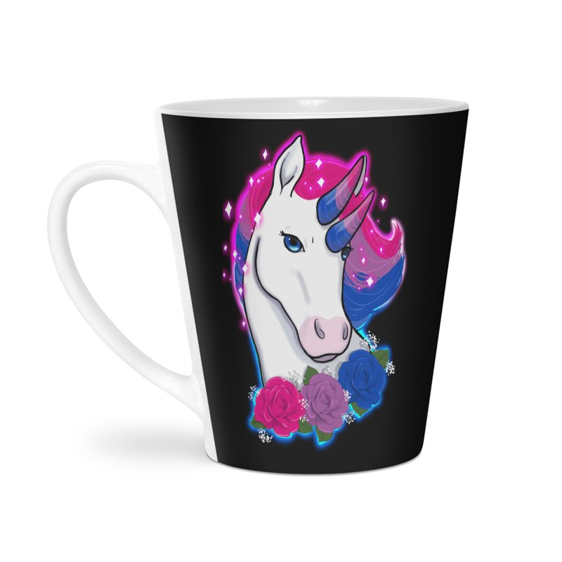 Bisexual Pride Unicorn Accessories Latte Mug by AnimeGravy