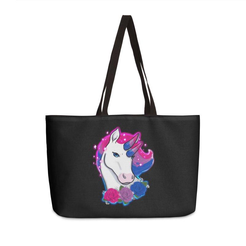 Bisexual Pride Unicorn Accessories Weekender Bag Bag by AnimeGravy