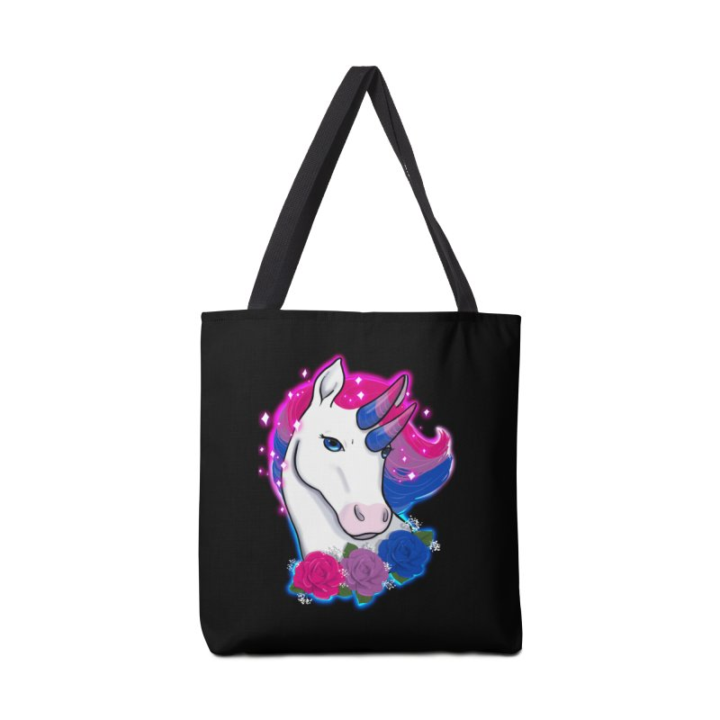 Bisexual Pride Unicorn Accessories Bag by Animegravy's Artist Shop