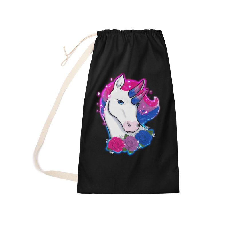 Bisexual Pride Unicorn Accessories Laundry Bag Bag by AnimeGravy