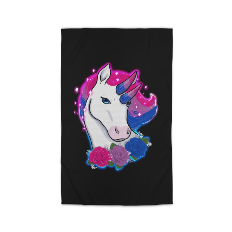Bisexual Pride Unicorn Home Rug by Animegravy's Artist Shop