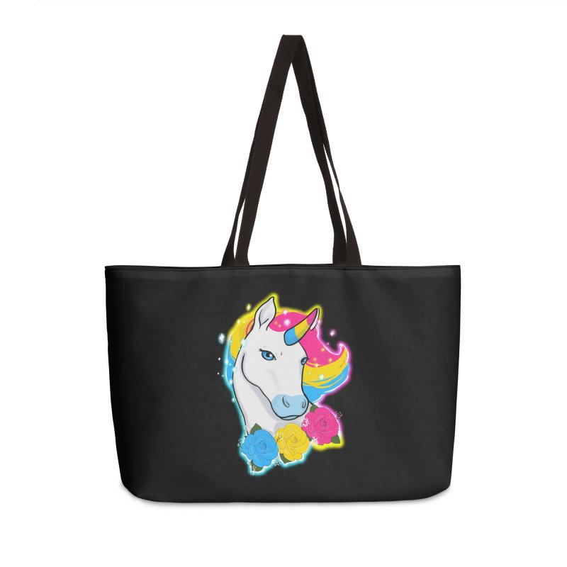 Pansexual pride unicorn Accessories Bag by AnimeGravy