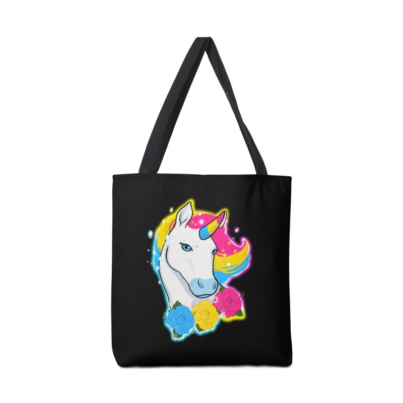 Pansexual pride unicorn Accessories Bag by Animegravy's Artist Shop