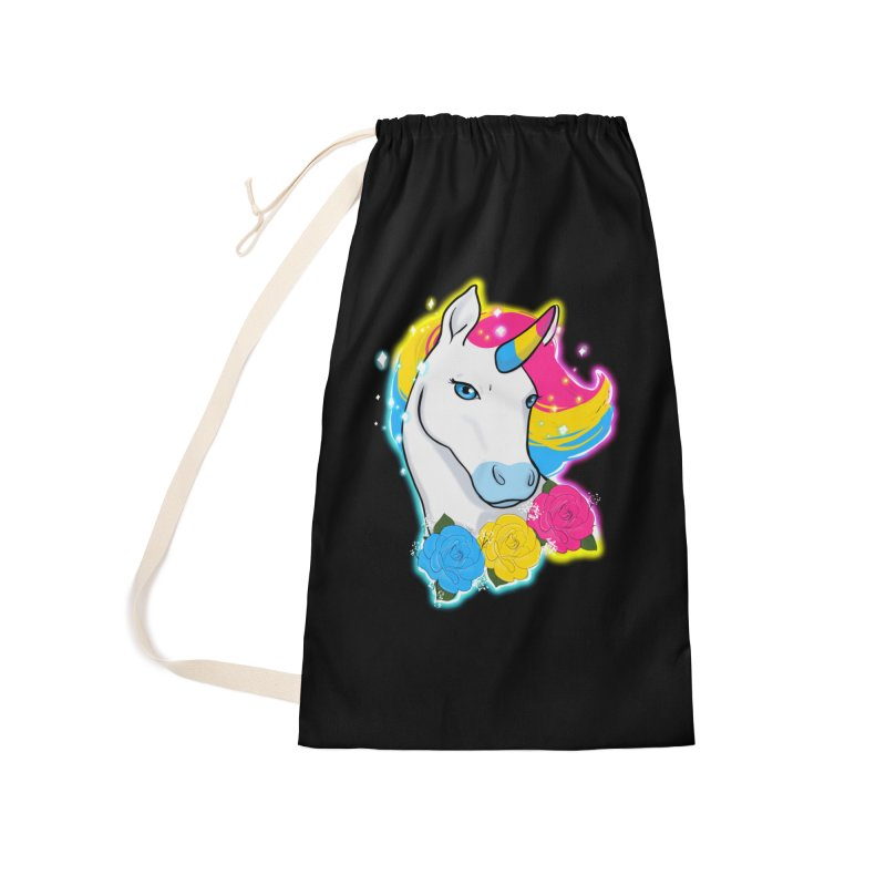 Pansexual pride unicorn Accessories Laundry Bag Bag by AnimeGravy