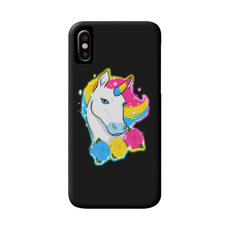 Pansexual pride unicorn Accessories Phone Case by AnimeGravy