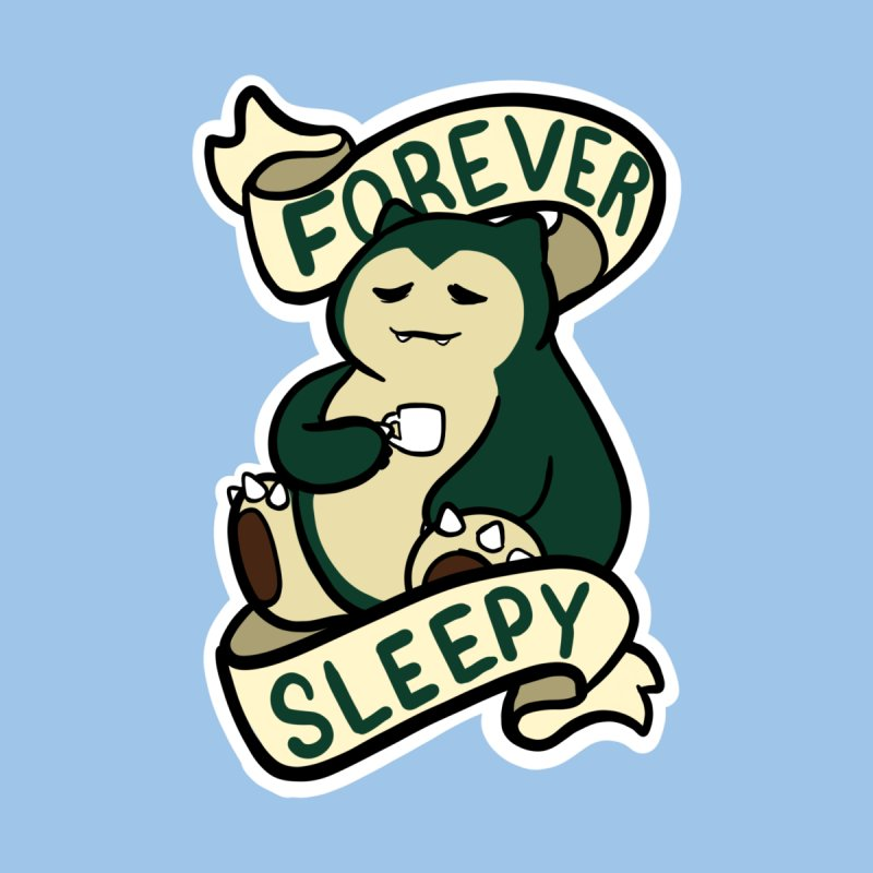 Forever sleepy Snorlax Kids Toddler Zip-Up Hoody by AnimeGravy