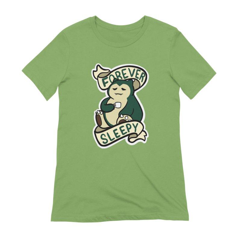Forever sleepy Snorlax Women's Extra Soft T-Shirt by AnimeGravy
