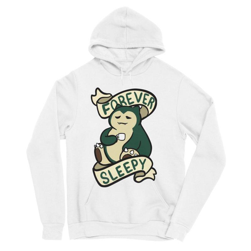 Forever sleepy Snorlax Women's Sponge Fleece Pullover Hoody by AnimeGravy