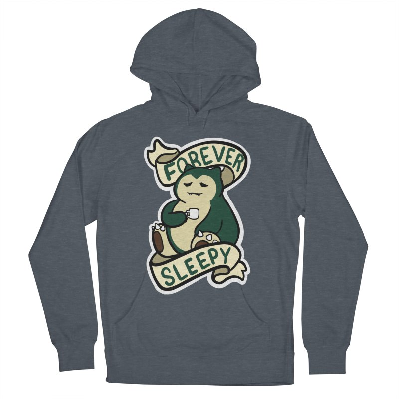 Forever sleepy Snorlax Women's French Terry Pullover Hoody by AnimeGravy