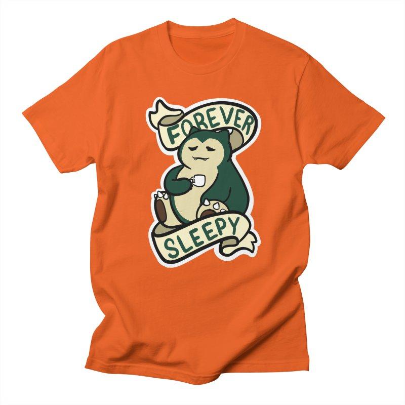 Forever sleepy Snorlax Women's Regular Unisex T-Shirt by AnimeGravy