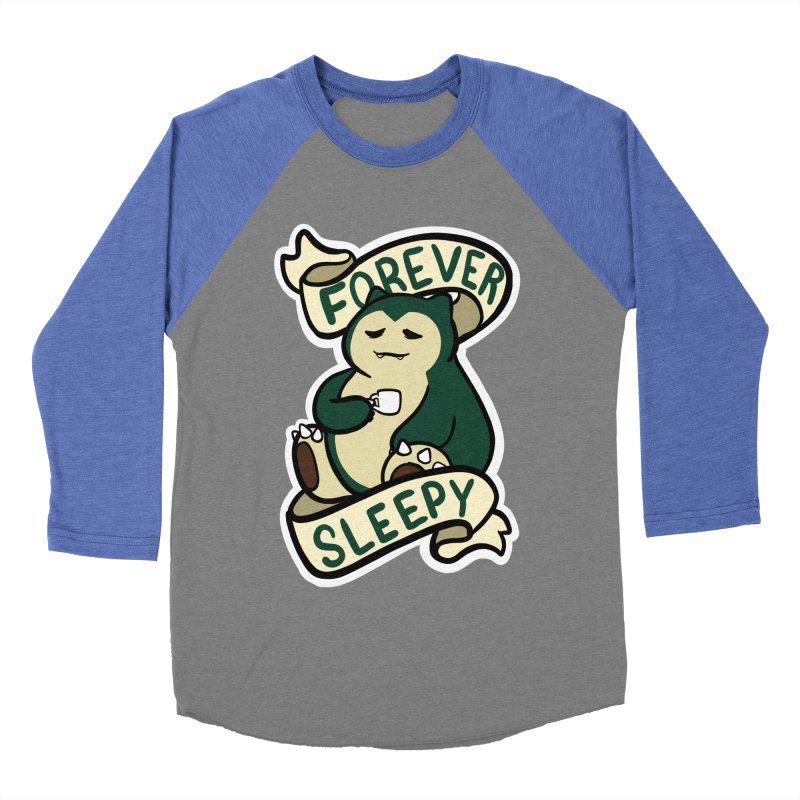 Forever sleepy Snorlax Women's Baseball Triblend Longsleeve T-Shirt by AnimeGravy