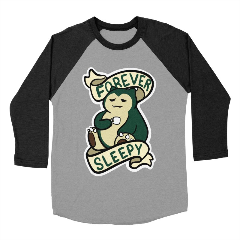 Forever sleepy Snorlax Women's Baseball Triblend Longsleeve T-Shirt by AnimeGravy